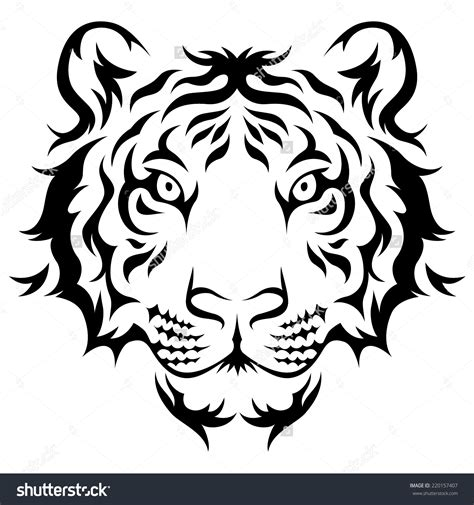 small black and white tattoo designs easy black and white tiger designs amazing
