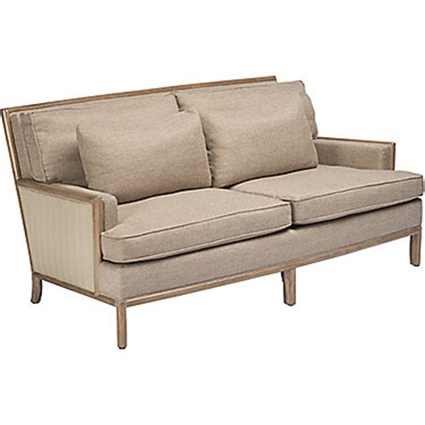Barbara Barry Sofa by Mcguire Furniture Barbara Barry Boxback Sofa No C 66