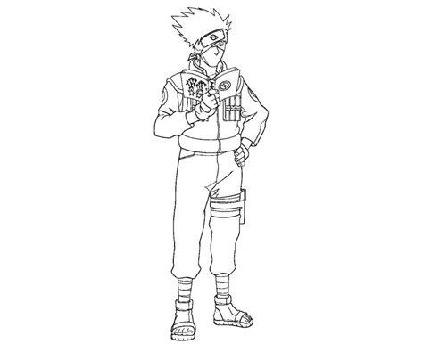 kakashi coloring pages