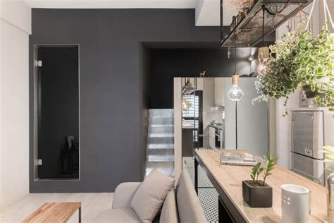 House Design Studio Taiwan Tiny Studio Apartment With Loft Bed For A Single In
