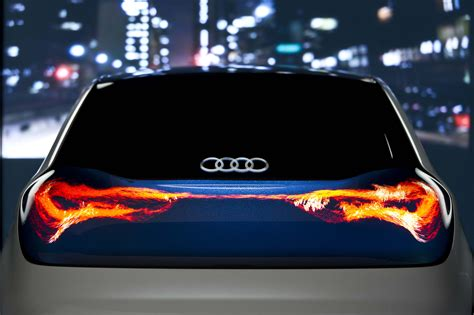 car lights audi s swarm oled concept is beautiful but illegal pakwheels