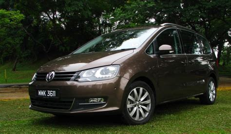 volkswagen sharan  tsi test drive review