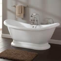 Bathtubs Rosalind Acrylic Pedestal Tub Bathroom