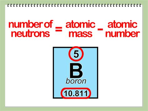 number of protons electrons and neutrons in boron how to find the number of protons neutrons and electrons