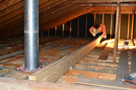 load bearing wall beam in attic ceiling joist support beam shelly lighting
