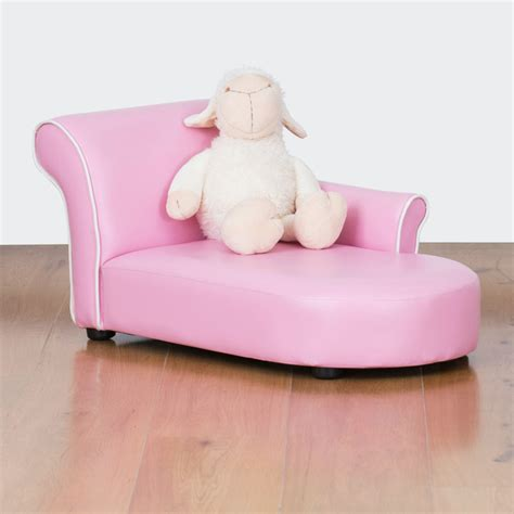 children s chaise lounge bambina kids chaise lounge bubblegum pink modern