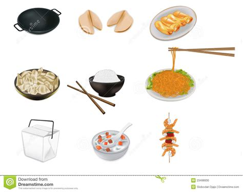 illustration cuisine food vector illustration stock vector