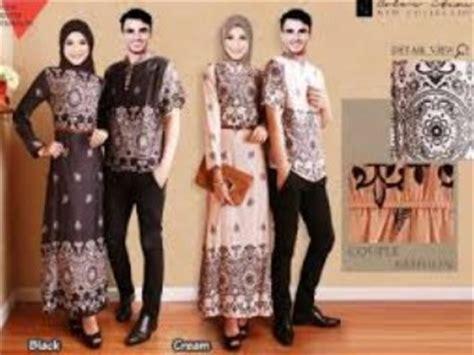 Baju Batik Couplebaju Muslim Couplebaju Trendy 10 contoh model baju muslim populer 2015