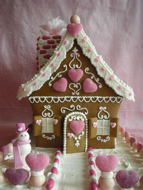 gingerbread house with love confection valentine gingerbread house by with love confection