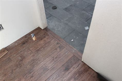 tile to wood transition home tile to wood transition home design ideas simple