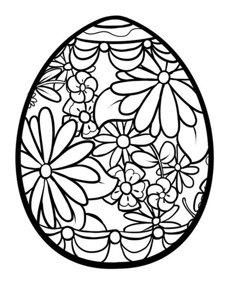 mandala coloring pages easter lots of easter themed eggs flowers and mandala coloring