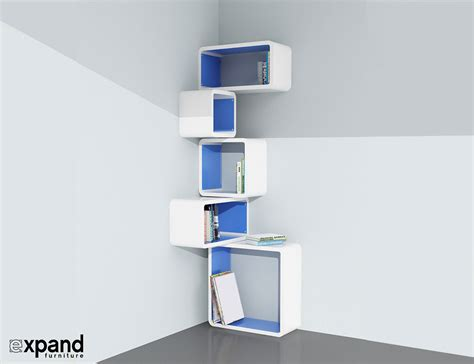 Corner Cube Shelf modular corner cube shelf m expand furniture