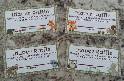 printable diaper raffle coupons search results for free download diaper raffle tickets