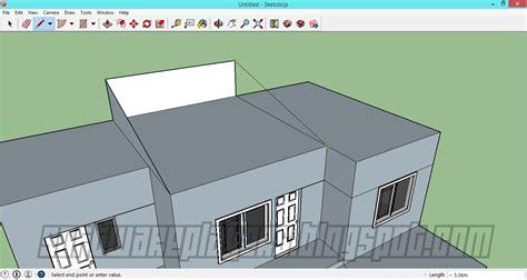 tutorial google sketchup rumah minimalis desain rumah minimalis menggunakan google sketchup full