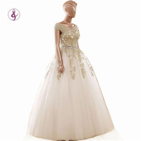 Cheap Bridal Dresses by Get Cheap Gold Bridal Dress Aliexpress