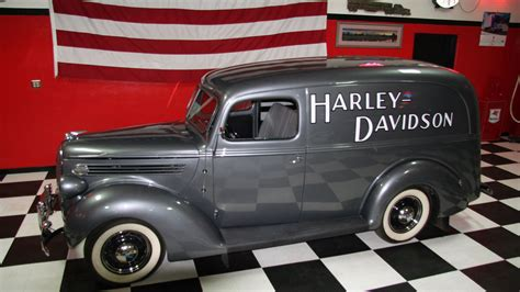 1938 Ford Truck by 1938 Ford Panel Truck F208 Anaheim 2016