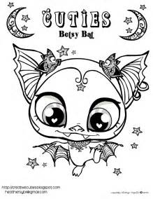 betsy bats quirky artists coloring pages free animal artists loft animal colors free