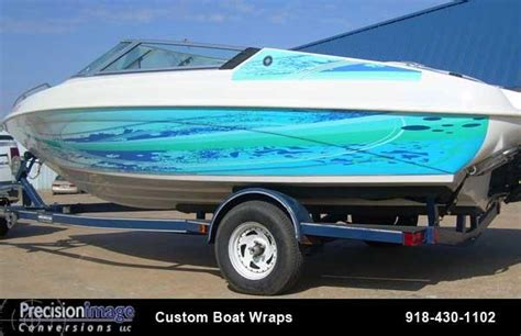 boat detailing tulsa pic boat wraps fleet graphics from precision image vehicle