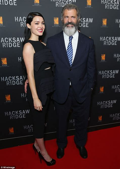 mel gibson locks lips with 24 year old girlfriend rosalind ross in mel gibson s girlfriend rosalind ross joins him at