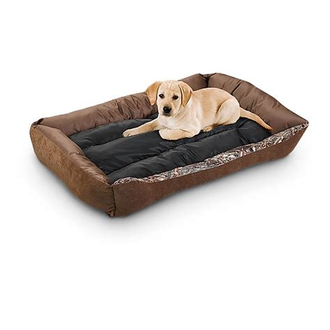 cuddler dog bed mossy oak 27x36 quot cuddler pet bed 609506 kennels beds