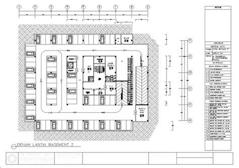 layout denah hotel vla project team work on behance