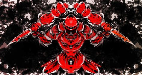 Red Warrior by eMeFKaeR on DeviantArt