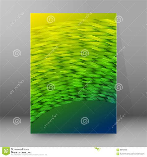 advertising layout elements background report brochure cover pages a4 style abstract