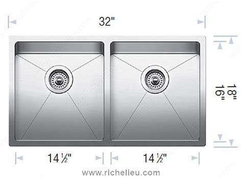 blanco sink dxf blanco sink quatrus r15 u 2 richelieu hardware