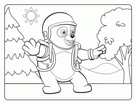 special agent oso coloring pages coloringpagesabc com