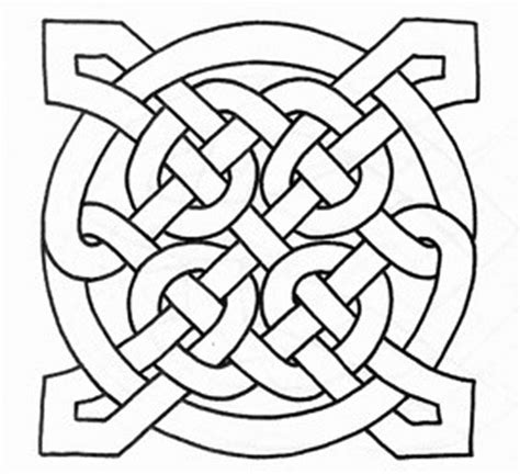 Free Printable Celtic Knot Patterns Celtic Knot Coloring Pages