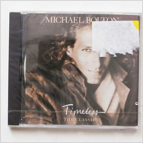 Album Kaset Pita Michael Bolton Timeless The Classics 1992 jazz classic cd for sale on groovecollector