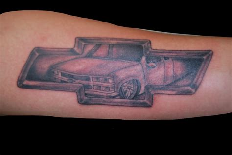 chevy symbol tattoo designs the collective gallery and studio gilbert