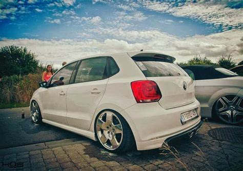 volkswagen polo black modified modified cars white volkswagen polo modified