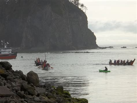 quileute canoes quileute river classroom july 2011