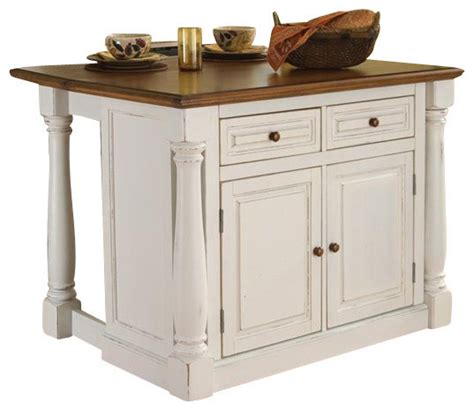 kitchen islands houzz home styles monarch kitchen island with two stools
