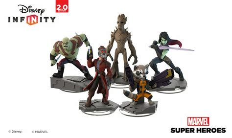disney infinity 2 0 marvel heroes wave 1 figures