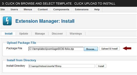 joomla template tutorial 3 2 video tutorial how to install a joomla 2 5 template