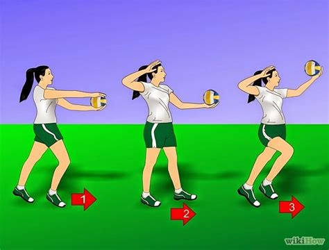 jenis jenis teknik servis  bola voli tutorial