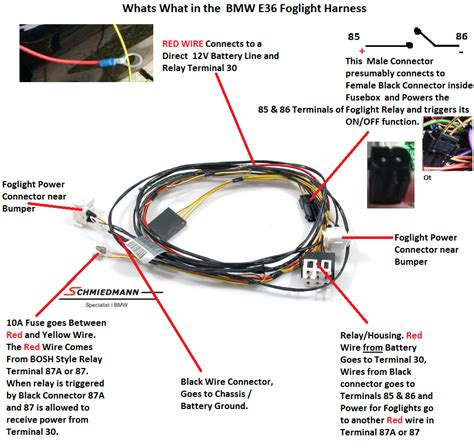 e30 fog light switch location get free image about
