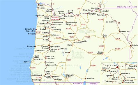 map of oregon cities hotels in oregon map listings and reservations for oregon towns and cities with hotels