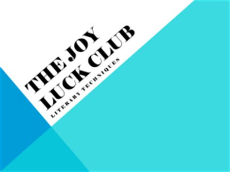 the joy luck club summary and analysis like sparknotes physics chapter 17
