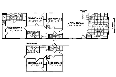 18 wide mobile home floor plans 18 x 80 single wide mobile home floor plans ananu me