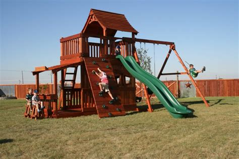 wooden backyard playsets backyard playground designs for kids this for all