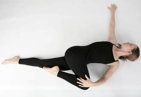 reclined spinal twist lose belly fat the yoga way asanas that you need to know