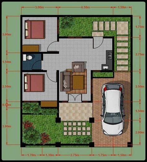design interior rumah type 54 desain 3d rumah type 45 design plan section structure