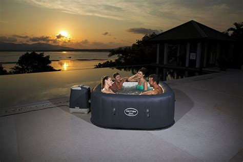 Couverture Piscine Hors Sol 961 by Spa Gonflable Bestway Hawaii Hydrojet Pro 4 6 Places