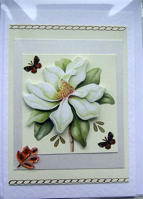 Decoupage Cards - how to decoupage a beginners guide card world