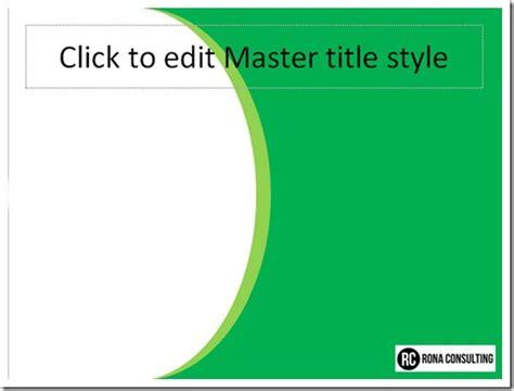 Cara Membuat Template Presentasi Powerpoint Dengan Slide Master Presentasi Net Template Presentasi Powerpoint