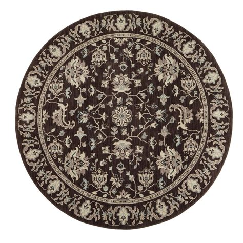 area rugs 8 ft home decorators collection jackson black 8 ft x 8 ft