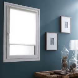 store enrouleur tamisant easy voilage blanc 35x170 cm